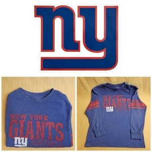 OFFICIAL NFL NY Giants Long Sleeve Shirt